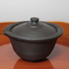 Tokoname kokudei ireko nesting tea set by Fugetsu #ceramic #pottery #teapot #kyusu #kyuusu #teatime #greentea #sencha #tea #japaneseceramics #japanesepottery #wabicha #wabipot #tokoname