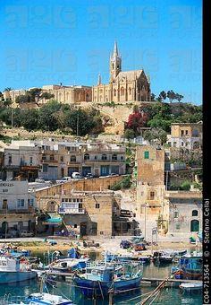Puerto de Mgarr, Gozo.  Malta