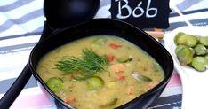 Sezon na bób trwa, więc warto zrobić z niego zupę... z dodatkiem ziemniaków oraz kiełbasy. Jest to pyszna i kremowa zupa, w której część ugo... Cheeseburger Chowder, Bob, Ethnic Recipes, Bob Cuts, Bob Sleigh, Bobs