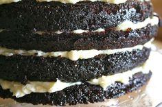 Layer Cake de Chocolate con buttercream de vainilla