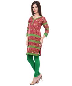 Buy chanderi cotton kurti online at best price in India