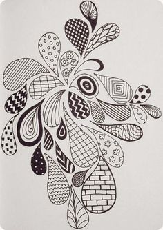 Efie goes Zentangle: