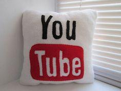 YouTube pillow.