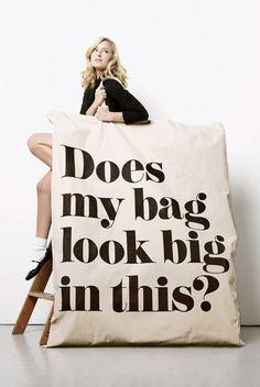 XXXXXL Bag $495.00 - this is hilarious!