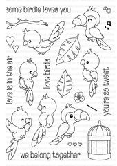 Some Birdie Loves You   Clearly Besotted Stamps