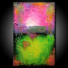 Textured Abstract Painting Urban Modern ORIGINAL by FariasFineArt, on Etsy