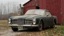 Barn find Facel Vega discovered on Minnesota farm sells for $209,509