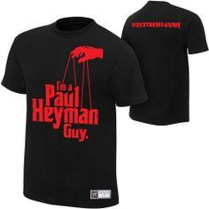 Adult Men's Official WWE I'm a Paul Heyman Guy #2extreme4wwe Tee Shirt-  M #wweeliminationchamber