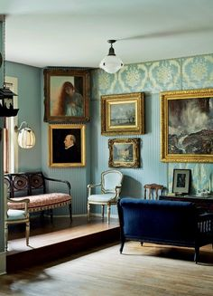 The Lady In Tweed The Isabella Stuart Gardener Museum Blue Rooms, White Rooms, Gardner Museum, Gypsy Living, English Decor, Living Spaces, Living Room, Tuscan Style, Drawing Room