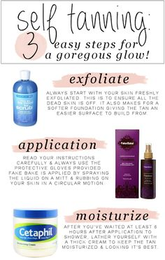 self tanning how to: the kinch life blog