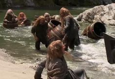 the hobbit desolation of smaug   The Hobbit: The Desolation of Smaug: More spy footage from the barrel ...