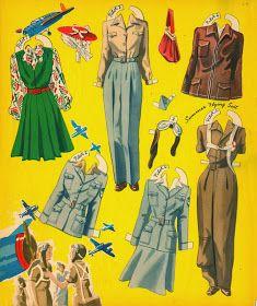 Kathleen Taylor's Dakota Dreams: Thursday Tab- Merrill Girl Pilots of the Ferry Command, 1943