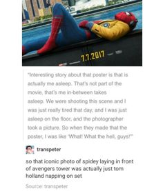 Guys if u haven't seen Spiderman Homecoming you need to watch it right when u get the chance IT'S AMAZING AND I LOVE IT SO MUCH