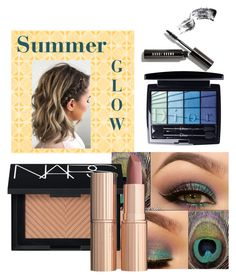 """""""Summer glow"""" by rdanaes on Polyvore featuring beauty, NARS Cosmetics, Charlotte Tilbury, Christian Dior and Bobbi Brown Cosmetics"""