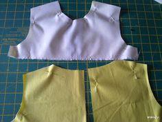 coser es fácil...forrar vestido Athletic Tank Tops, Women, Fashion, Dresses For Girls, Patterns, Dressmaking, Hipster Stuff, Moda, Fashion Styles