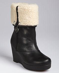KORS Michael Kors Girls' Abia Cuff Boots - Sizes 1-5 Child