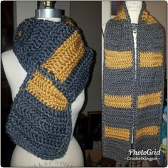 Are you hardworking? Dedicated? Do you happen to have a thing for badgers? Then you may just be a #hufflepuff! . You may be a little awkward at times but people just don't get the type of amazing you are. . Show off you house with this #harrypotter inspired hufflepuff #crochet scarf. Perfect for #cosplay or #fandom. $25  #wordpress Awkward, Wordpress, Fashion Accessories, Fandoms, Cosplay, Times, Shit Happens, Inspired, Crochet
