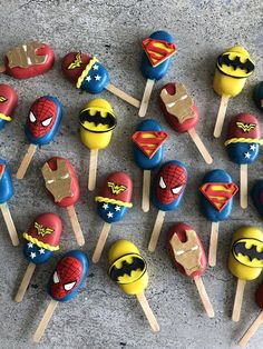 SuperHero Cakesicles