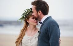 Intimate Ireland wedding | photo by  Poppies and Me | Read more - http://www.100layercake.com/blog/