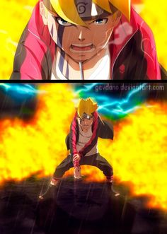 Boruto going home after a life-threatening battle. Boruto Episode 65 FanArt (Going Home) Naruto Boys, Naruto And Hinata, Naruto Shippuden Sasuke, Kakashi, Boruto Episodes, Boruto And Sarada, Sasunaru, Boruto Characters, Boruto Next Generation