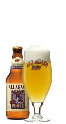 Allagash WhiteOur interpretation of a traditional Belgian wheat beer. Brewed with a generous portion of wheat and spiced with coriander and Curacao orange peel, this beer is fruity, refreshing and slightly cloudy in appearance. Description: Belgian Style Wheat ABV: 5.0% Profile: Light, Crisp, Fruity, Spicy Serving Temperature: 38°-50°F Availability: Year Round Package: 12oz bottle, 5.17 gallon keg and 15.5 gallon keg Ideal Within: Six months