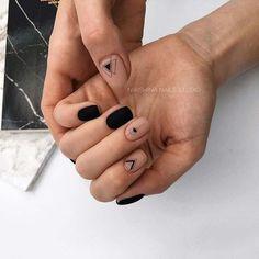 21 Edgy Matte Black Nails to inspire you . 21 Edgy Matte Black Nails to inspire you Matte Black Nails, Black Nail Art, Gold Nails, Matte Pink, Gradient Nails, Holographic Nails, Stylish Nails, Trendy Nails, Minimalist Nails