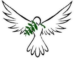 Dove and olive branch Dove With Olive Branch, Dove And Olive, Olive Branches, Memorial Tattoos, Tattoos Skull, Body Art Tattoos, Animal Tattoos, Sleeve Tattoos, Dove Tattoo Design