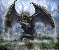 Mist Dragon by Sumerky.deviantart.com on @DeviantArt