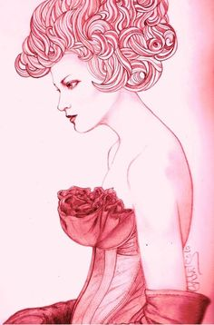 Fashion Illustration by Maria Caleis - 50 Beautiful Fashion Illustrations  <3 <3
