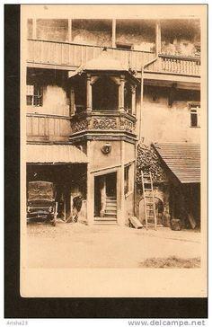 Germany, Nurnberg - Kutscherhof im Brunnengasschen - Nuernberg 1918 stempel stamp
