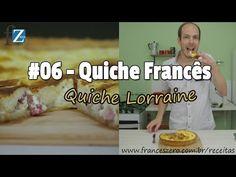 Receita francesa tradicional da Quiche Lorraine - FrancêsZero - Curso de Francês Online. Primeiras aulas grátis. - FrancêsZero