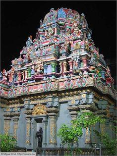 Hindu Temple on Silom Road, Bangkok