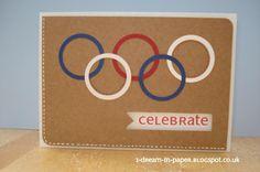 olympic birthday card