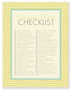 A Checklsit is a great way to stay organized. After a student is done doing a task they can check it off step by step. This would be beneficial for students who have a learning disability or a cognitive delay and can be used in any setting.