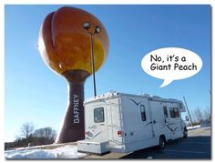 RVing + roadside attractions = fun!