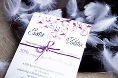 Classic Wedding Invitation, Invitation with satin ribbon, Pink Wedding Invitation Classic Wedding Invitations, Unique Weddings, Ribbon, Satin, Tape, Band, Elastic Satin, Ribbon Hair Bows, Bows