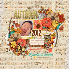Fall Into Autumn by Zoe Pearn Bluebonnet Template Pack by Sara Gleason