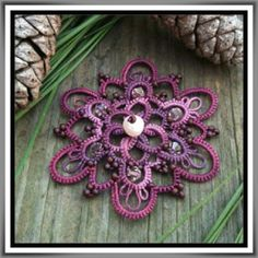 Beaded Tatting: FREE Pattern