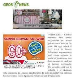 Siamo su geo news http://it.geosnews.com/p/it/abruzzo/le-feste-alla-moda-con-cakes-on-the-road_8229933