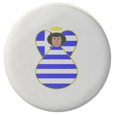 Greek Angel Flag Black Hair Chocolate Dipped Oreo -- OMG, @AuntieShoe is gonna DIE just looking at this. Great party idea. See more stuff with this design at http://www.zazzle.com/greekflaggear?rf=238656250999501047&tc=PINfood81814