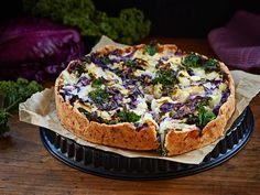 Vegetable Pizza, Feta, Camembert Cheese, Cooking, Breakfast, Desserts, Recipes, Quiches, Food Ideas