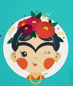 Desenho Kids, Diego Rivera Art, Famous Artists For Kids, Homemade Gift Baskets, Frida Art, Funky Art, Creative Artwork, Resin Art, Cute Drawings