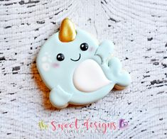 Narwhal – The Sweet Designs Shoppe Oatmeal Biscuits, 6th Birthday Parties, 7th Birthday, Birthday Ideas, Royal Icing Cookies, Sugar Cookies, Cookie Designs, Cookie Ideas, Cookie Cutters