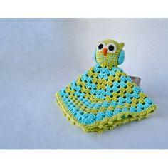 Crochet pattern: owl lovey