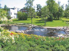 Oulu - Lasaretti on Hupisaarten vieressä, kivenheiton päässä Tuiran kaupunginosasta ja keskusta.