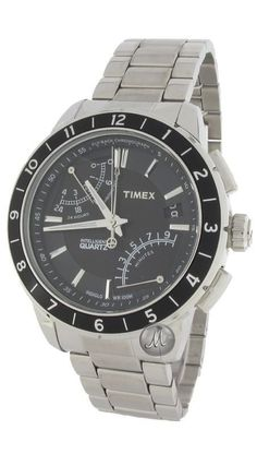 Timex Intelligent Fly-Back Chrono Watch T2N498