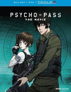Psycho-Pass: The Movie [Includes Digital Copy] [UltraViolet] [Blu-ray/DVD] [2 Discs] [Eng/Jap] [2015] - Front_Standard