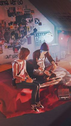 Wallpaper - Life is Strange Fan Art . Wallpaper - Life is Strange Fan Art . Life Is Strange Wallpaper, Life Is Strange Fanart, Life Is Strange 3, Arcadia Bay, Chloe Price, Fan Art, Chef D Oeuvre, Video Game Art, Video Games