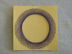Waldorf ~ 5th grade ~ Handwork ~ Thread Geometry