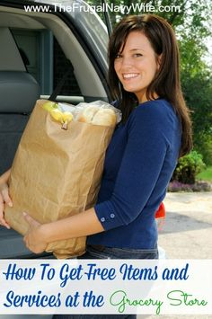 How to Get Free Items and Services at Grocery Stores - Even more great ways to save money on groceries!